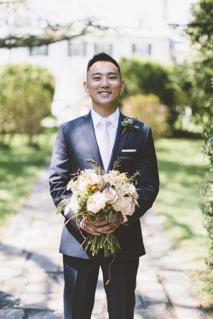 Groom in White Tie