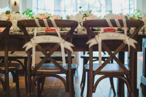Husband and Wife Chair Decor