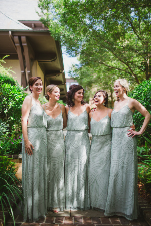 Mint Adrianna Papell Bridesmaids Dresses