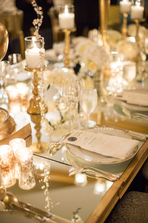 Mirrored Wedding Table
