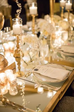 Mirrored Wedding Table