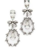 Oscar De La Renta Bow Earrings