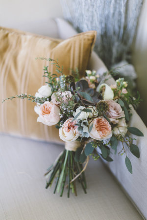 Peach Rustic Bouquet