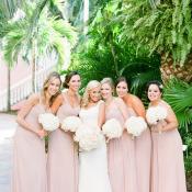 Pink Watters Bridesmaids Dresses