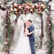 Romantic Garden Wedding Ceremony 14