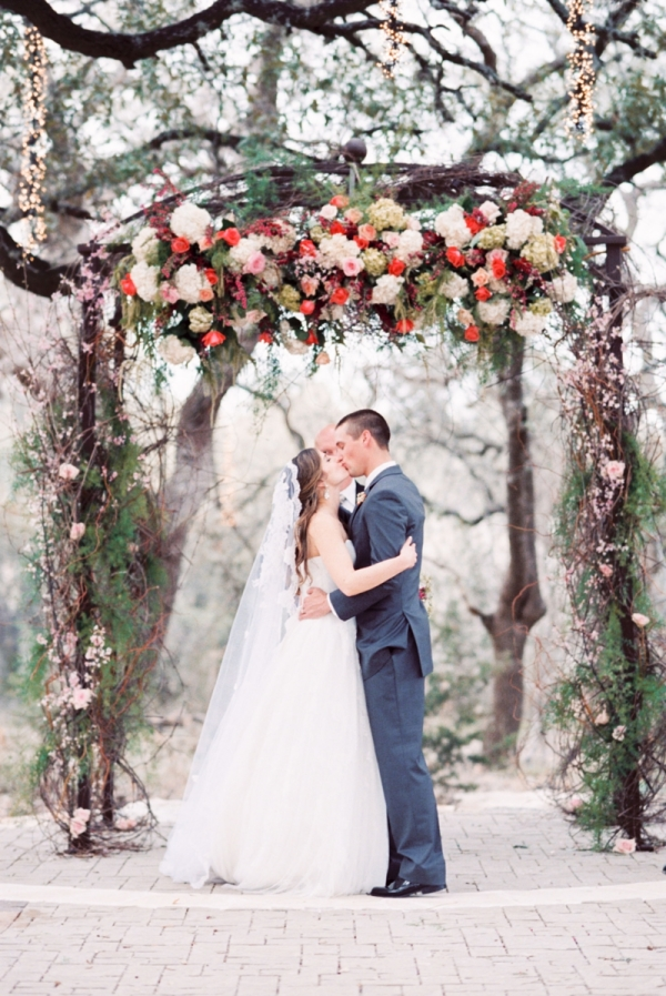 Romantic Garden Wedding Ceremony 14
