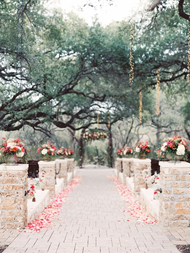 Romantic Garden Wedding Ceremony 3 Elizabeth Anne