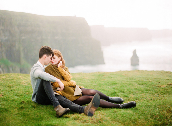 The Cliffs of Moher Engagement