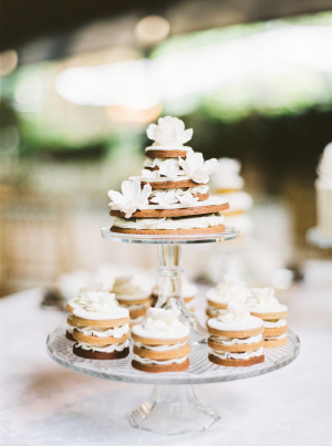 Tiered Small Wedding Cakes