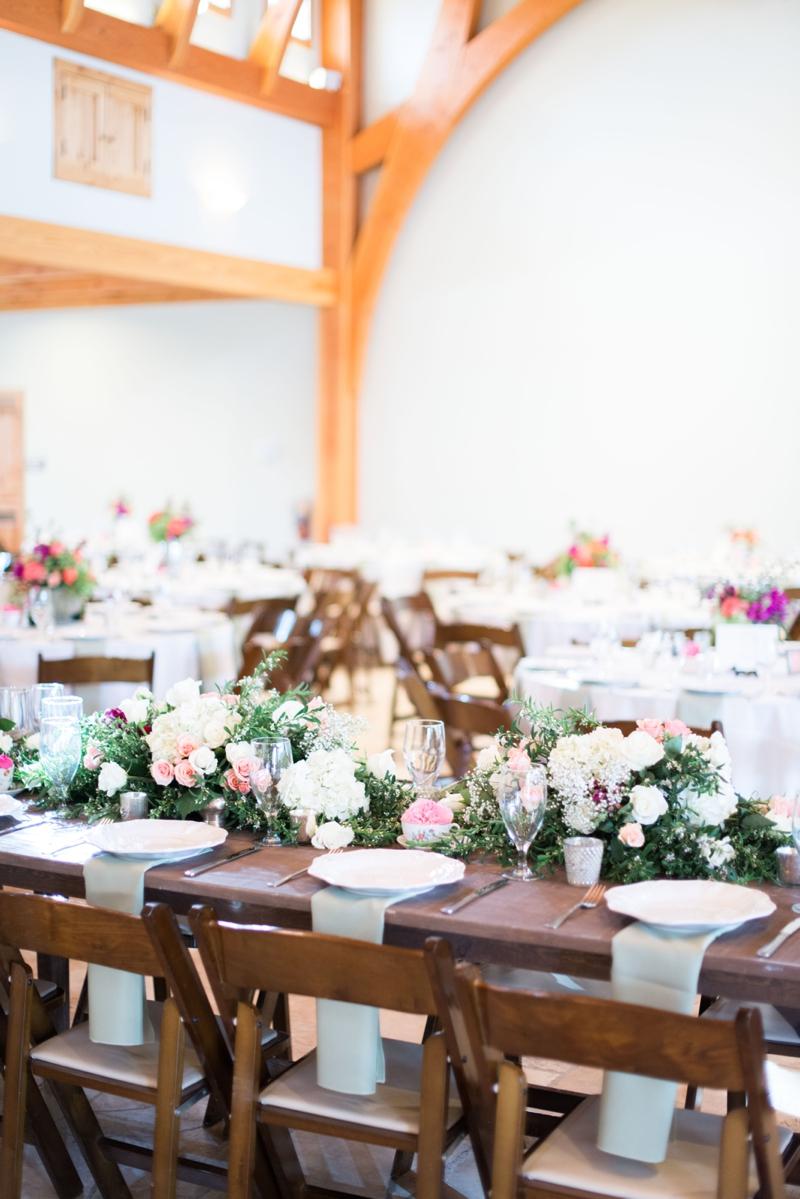 Wedding Centerpiece on Farmhouse Table - Elizabeth Anne Designs: The ...