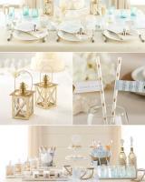 Beach Wedding Details from Kate Aspen