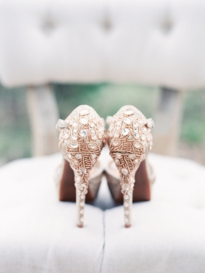 Bejeweled Wedding Shoes EAD Shop