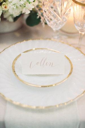 Blush Calligraphy for Weddings
