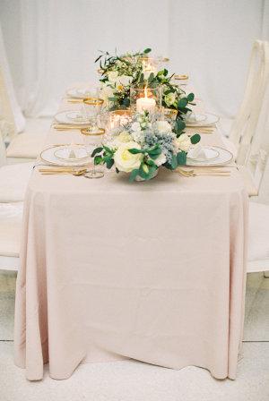 Blush Wedding Linen