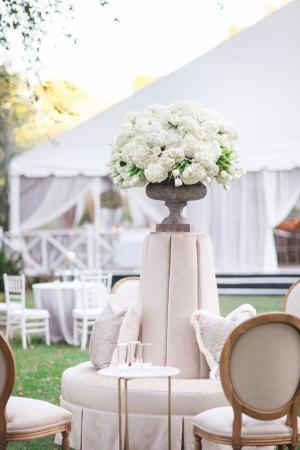 Blush and Ivory Wedding Lounge Area