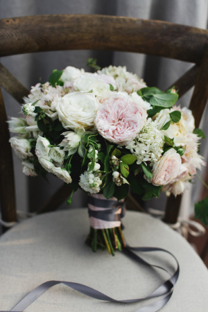 Bouquet of Blush Peonies