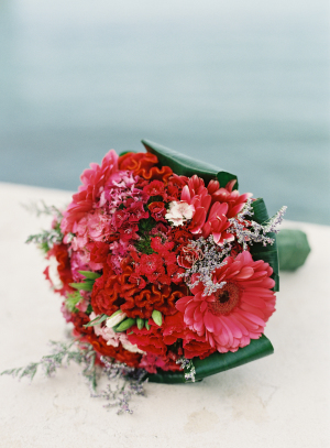 Bouquet with Fuchsia Flowers