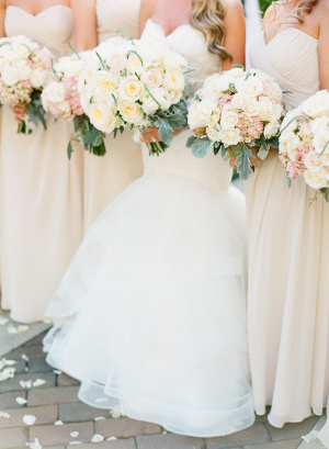 Bridesmaids in Pale Neutral