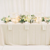 Butter and Ivory Wedding Table