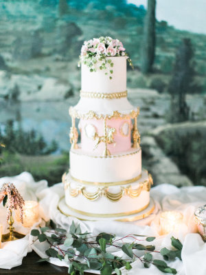 Cinderella Wedding Cake