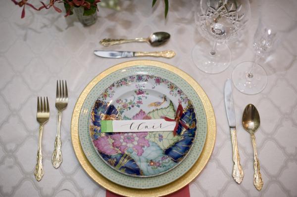 Colorful Wedding China