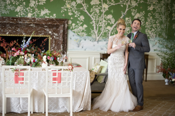 Elegant Asian Inspired Wedding