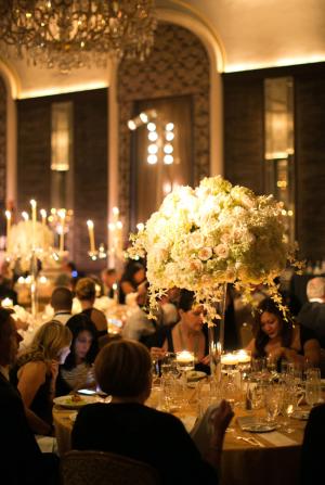 Elegant Black and White NYC Wedding