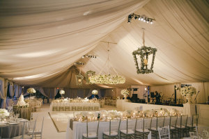 Elegant Wedding Reception Tent