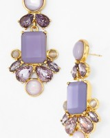Glitzy Spritz Statement Earrings