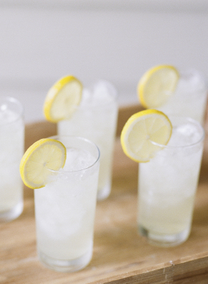 Lemonade at Wedding