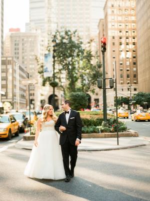 NYC Wedding Waldorf Astoria Lindsay Madden