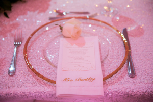 Personalized Embroidered Napkin