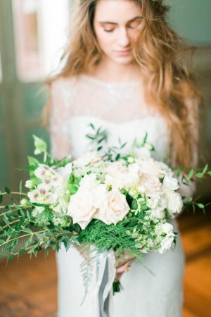 Ribbon Tied Bouquet
