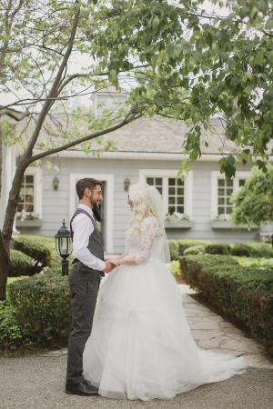 Romantic Roseville Ontario Wedding 1