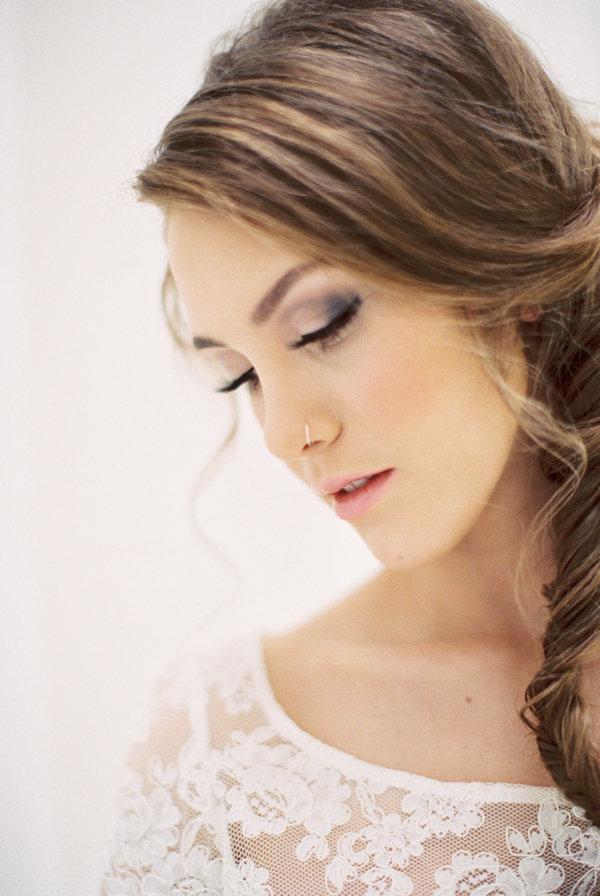 Side Braid Wedding Hair - Elizabeth Anne Designs: The Wedding Blog
