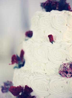 Sugar Flower Cake Rosettes