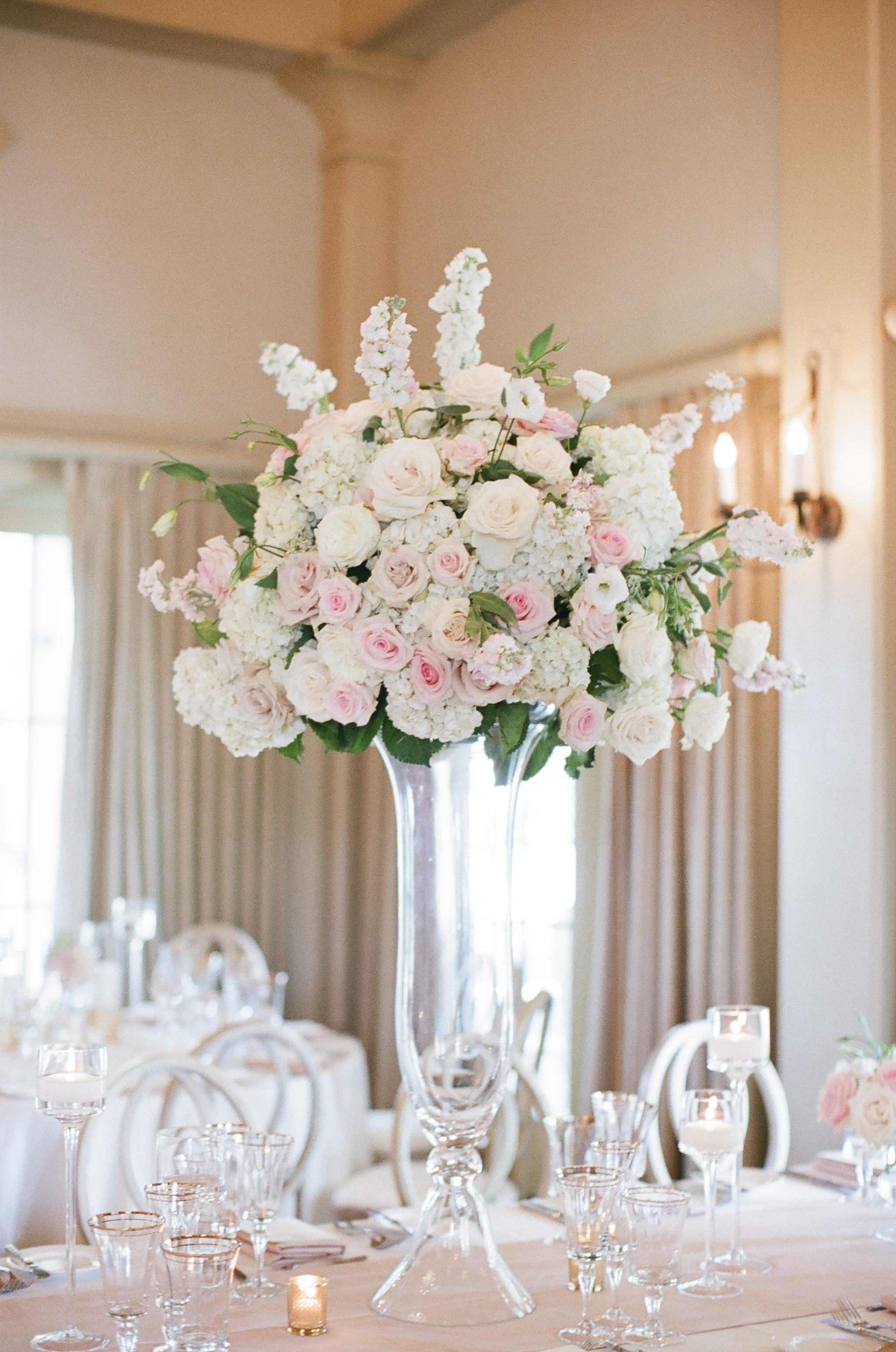 Tall Rose Centerpiece Elizabeth Anne Designs The