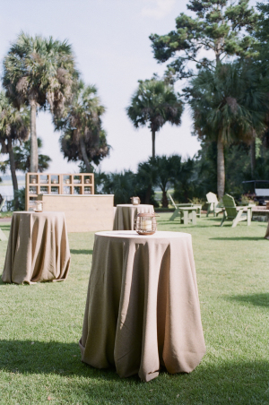 Taupe Wedding Linen