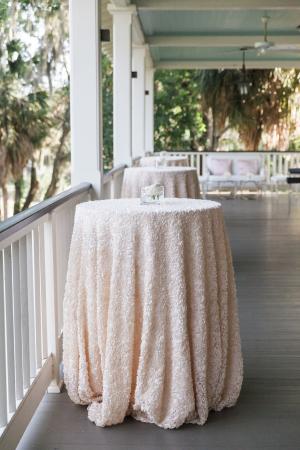 Pink Glitter Lounge Linens