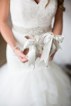 Wedding Shoes with Bows