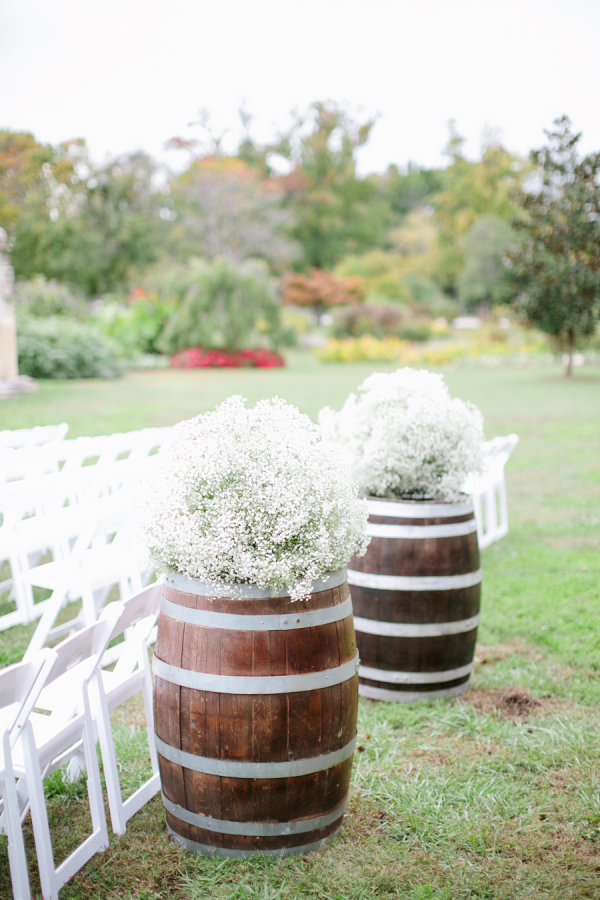 Babys Breath Wedding Decor