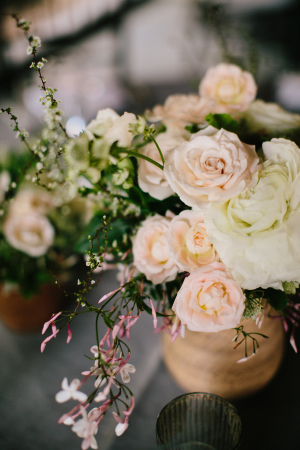 Blush and Ivory Flowers