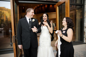 Bride Sees Reception for First Time