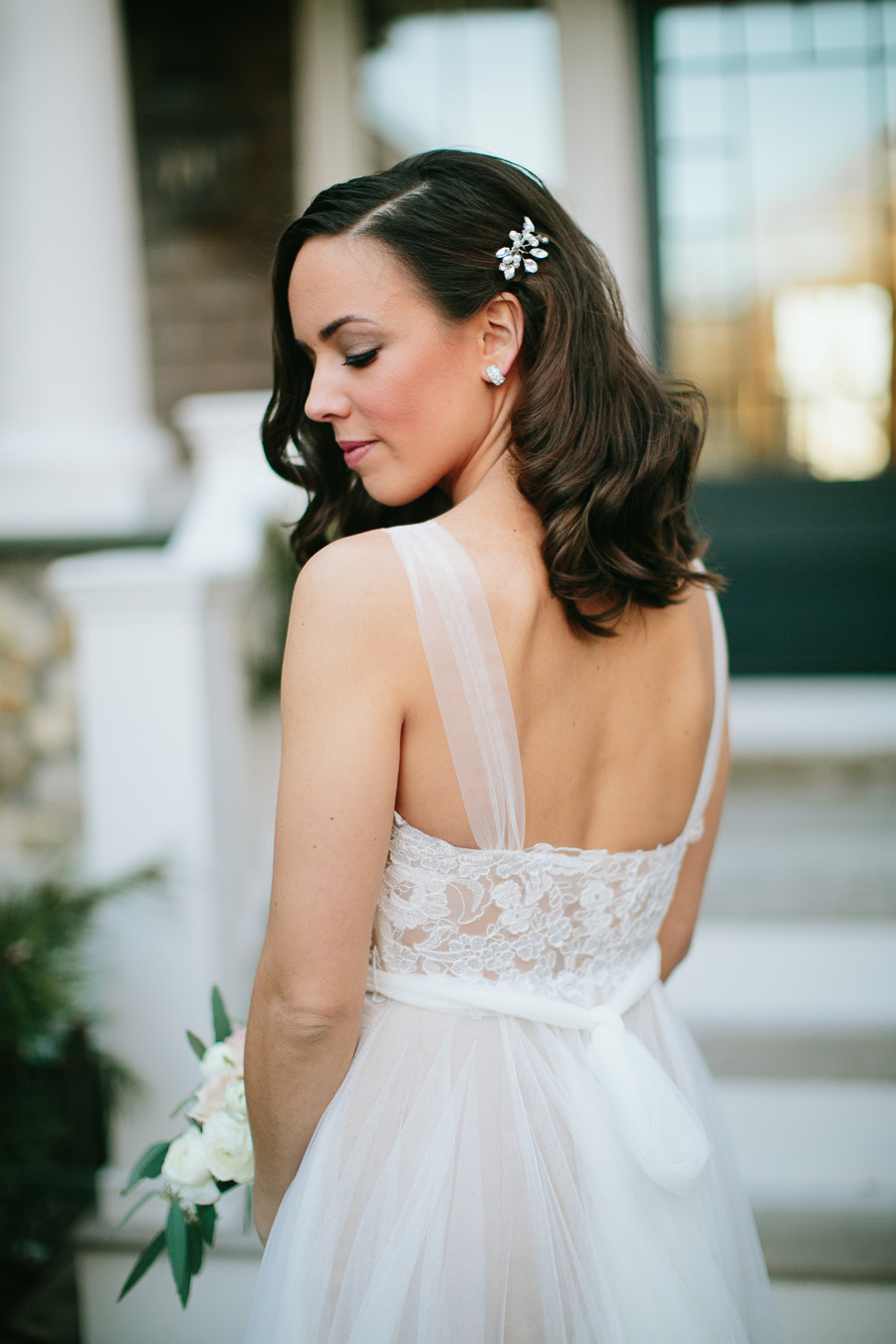 Bride In BHLDN Penelope 2