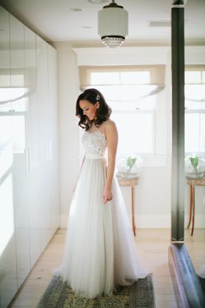 Bride in BHLDN Penelope