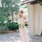 Bridesmaid in Pale Blush