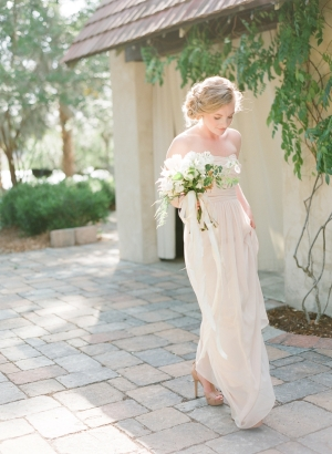 Bridesmaid in Pale Taupe