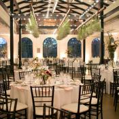 Brown Wedding Reception