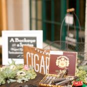 Cigars at Wedding