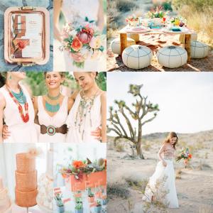 Colorful Southwestern Wedding Inspiration